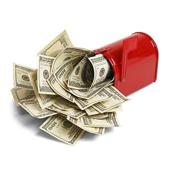 Money mailbox